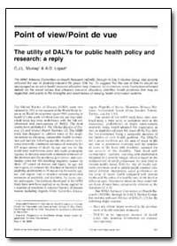 Bulletin of the World Health Organizatio... by C. J. L. Murray
