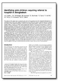 Bulletin of the World Health Organizatio... by H. D. Kalter