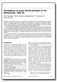 Bulletin of the World Health Organizatio... by P. M. Oostvogel