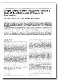 Bulletin of the World Health Organizatio... by F. C. Costa