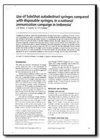 Bulletin of the World Health Organizatio... by C. M. Nelson