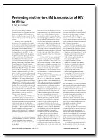 Bulletin of the World Health Organizatio... by P. Piot
