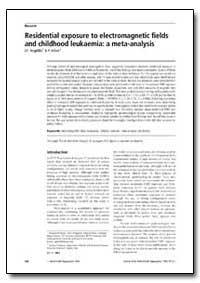 Bulletin of the World Health Organizatio... by I. F. Angelillo