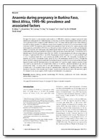 Bulletin of the World Health Organizatio... by N. Meda