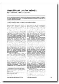 Bulletin of the World Health Organizatio... by Daya J. Somasundaram