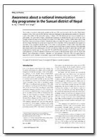 Bulletin of the World Health Organizatio... by N. Jha