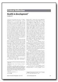 Bulletin of the World Health Organizatio... by Amartya Sen