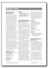 Bulletin of the World Health Organizatio... by G. A. Balint
