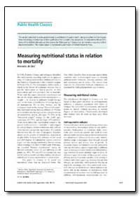 Bulletin of the World Health Organizatio... by Mercedes De Onis