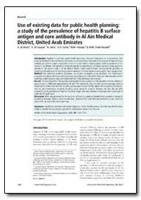 Bulletin of the World Health Organizatio... by A. Al-Owais