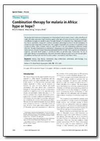 Bulletin of the World Health Organizatio... by Peter B. Bloland