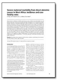 Bulletin of the World Health Organizatio... by A. Prual