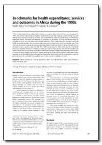 Bulletin of the World Health Organizatio... by David H. Peters