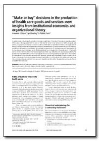 Bulletin of the World Health Organizatio... by Alexander S. Preker