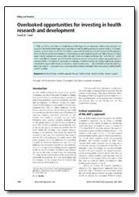 Bulletin of the World Health Organizatio... by David W. Fraser