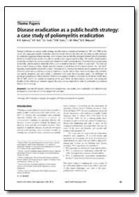 Bulletin of the World Health Organizatio... by R. B. Aylward