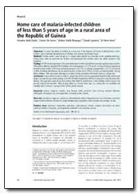 Bulletin of the World Health Organizatio... by Amadou Bailo Diallo