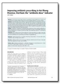 Bulletin of the World Health Organizatio... by John Chalker, Dr.