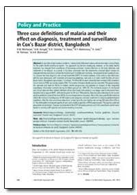Bulletin of the World Health Organizatio... by R. M. Montanari