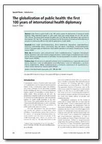 Bulletin of the World Health Organizatio... by David P. Fidler