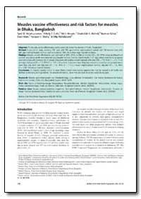 Bulletin of the World Health Organizatio... by Syed M. Akramuzzaman
