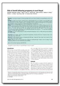 Bulletin of the World Health Organizatio... by Elizabeth Kimbrough Pradhan
