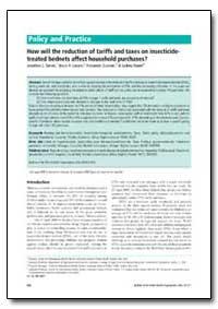 Bulletin of the World Health Organizatio... by Jonathon L. Simon