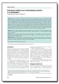 Bulletin of the World Health Organizatio... by Junaid A. Razzak
