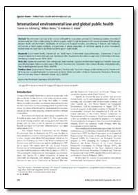 Bulletin of the World Health Organizatio... by Yasmin Von Schirnding, Dr.