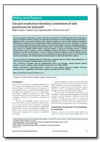 Bulletin of the World Health Organizatio... by Walter R. Dowdle