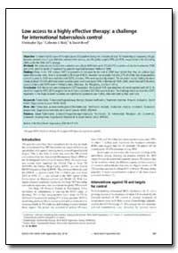 Bulletin of the World Health Organizatio... by Christopher Dye