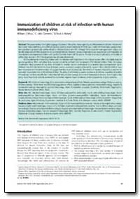 Bulletin of the World Health Organizatio... by William J. Moss