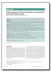 Bulletin of the World Health Organizatio... by Evgueni M. Andreev
