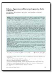 Bulletin of the World Health Organizatio... by Darren M. Roberts