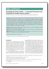 Bulletin of the World Health Organizatio... by Tikki Pang