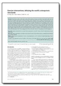 Bulletin of the World Health Organizatio... by Kai Ming Chan