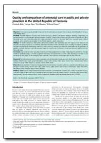 Bulletin of the World Health Organizatio... by Christoph Boller