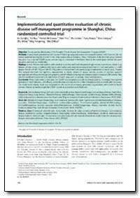 Bulletin of the World Health Organizatio... by Fu Dongbo