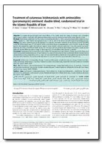Bulletin of the World Health Organizatio... by A. Asilian