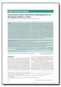 Bulletin of the World Health Organizatio... by Carlos A. Monteiro