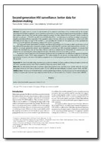 Bulletin of the World Health Organizatio... by Thomas Rehle