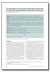 Bulletin of the World Health Organizatio... by Jennifer Jelsma
