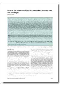 Bulletin of the World Health Organizatio... by Khassoum Diallo
