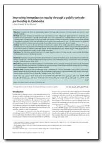 Bulletin of the World Health Organizatio... by J. Brad Schwartz