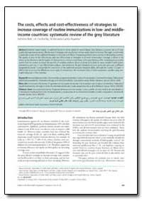 Bulletin of the World Health Organizatio... by Katherine Batt