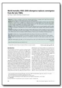 Bulletin of the World Health Organizatio... by Kath Moser