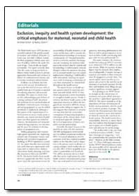 Bulletin of the World Health Organizatio... by Andrew Green