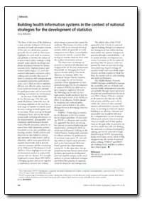Bulletin of the World Health Organizatio... by Tony Williams