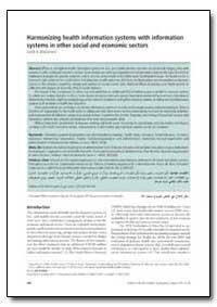 Bulletin of the World Health Organizatio... by Sarah B. Macfarlane