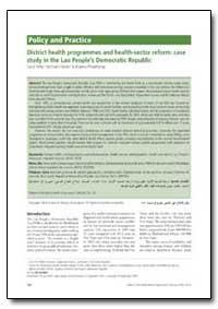Bulletin of the World Health Organizatio... by Carol Perks
